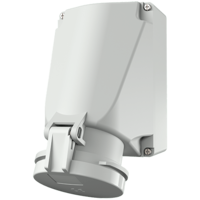 Wall mounted socket